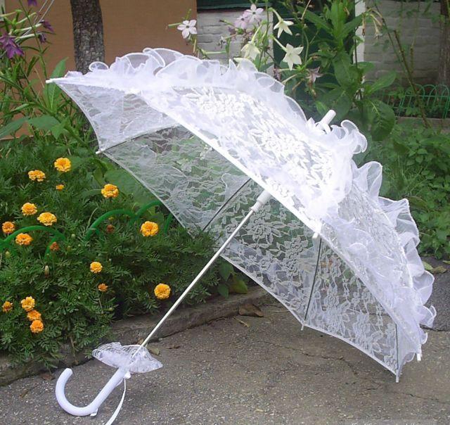 Свадебный зонт своими руками мастер класс 274